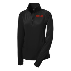 - Ladies Sport Wick ® Stretch 1/2 Zip Pullover