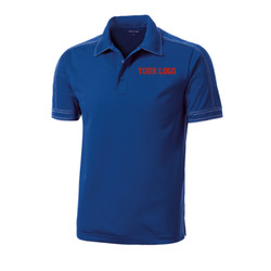 - Contrast Stitch Micropique Sport Wick ® Polo