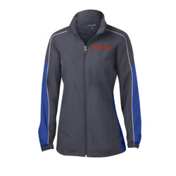 - Ladies Piped Colorblock Wind Jacket