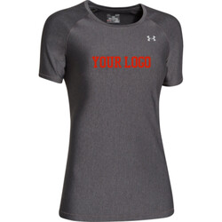 - UA HeatGear Fitted T Short Sleeve