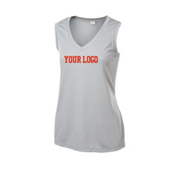 - Ladies Sleeveless PosiCharge ® Competitor™ V Neck Tee